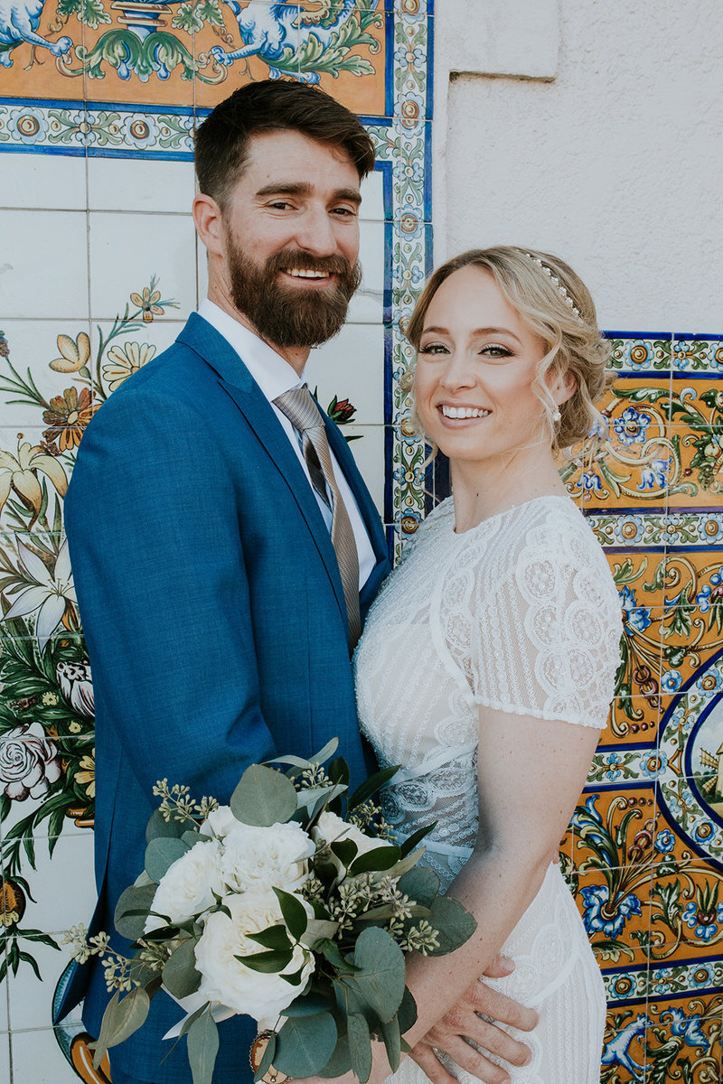 Tampa vintage bohemia wedding