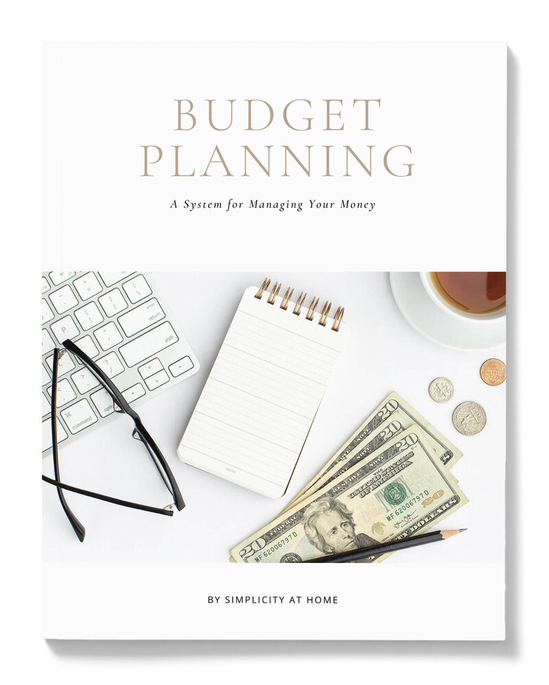 Budgeting listing - wht bkground