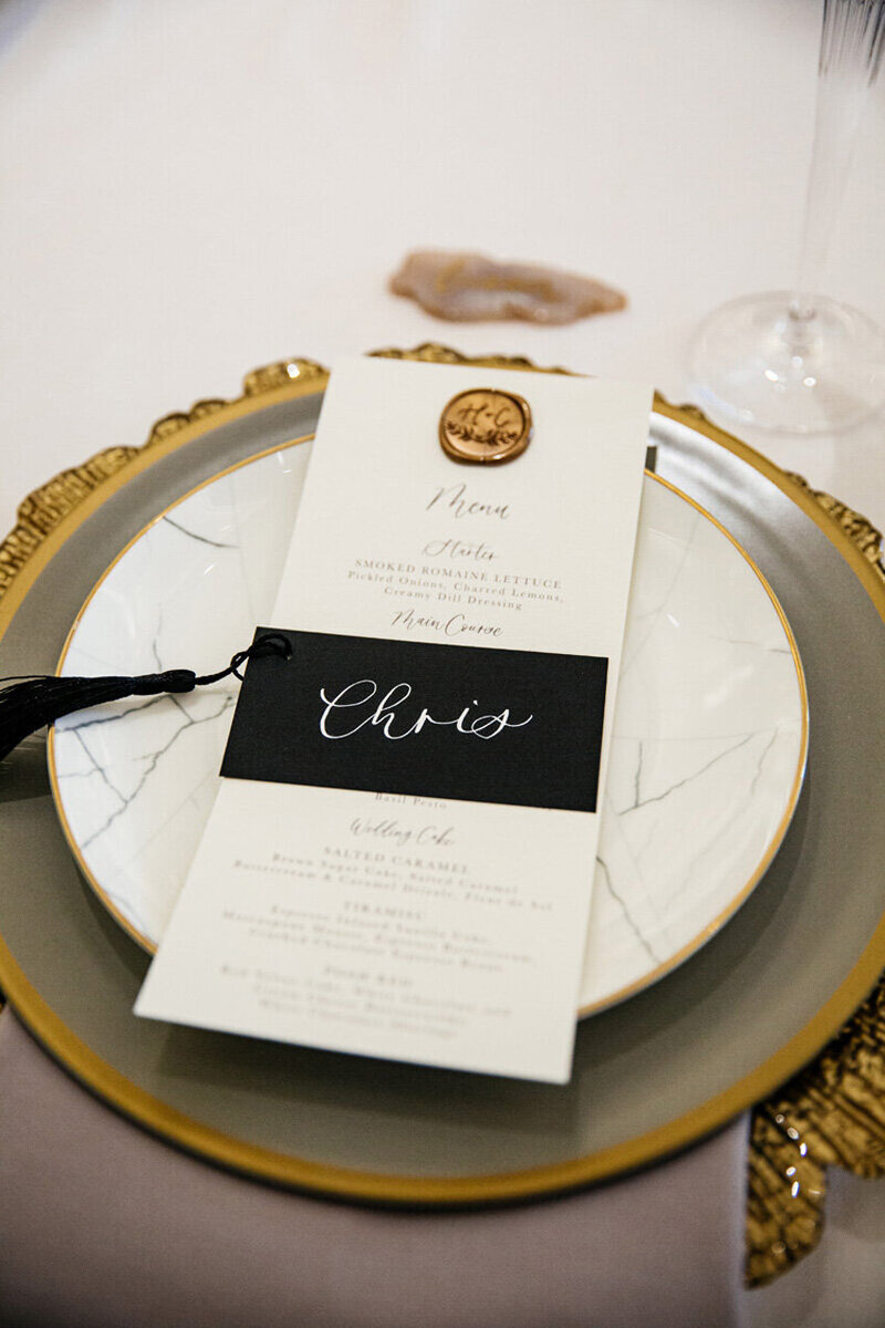 pirouettepaper.com | Wedding Stationery, Signage and Invitations | Pirouette Paper Company | Place Cards 27