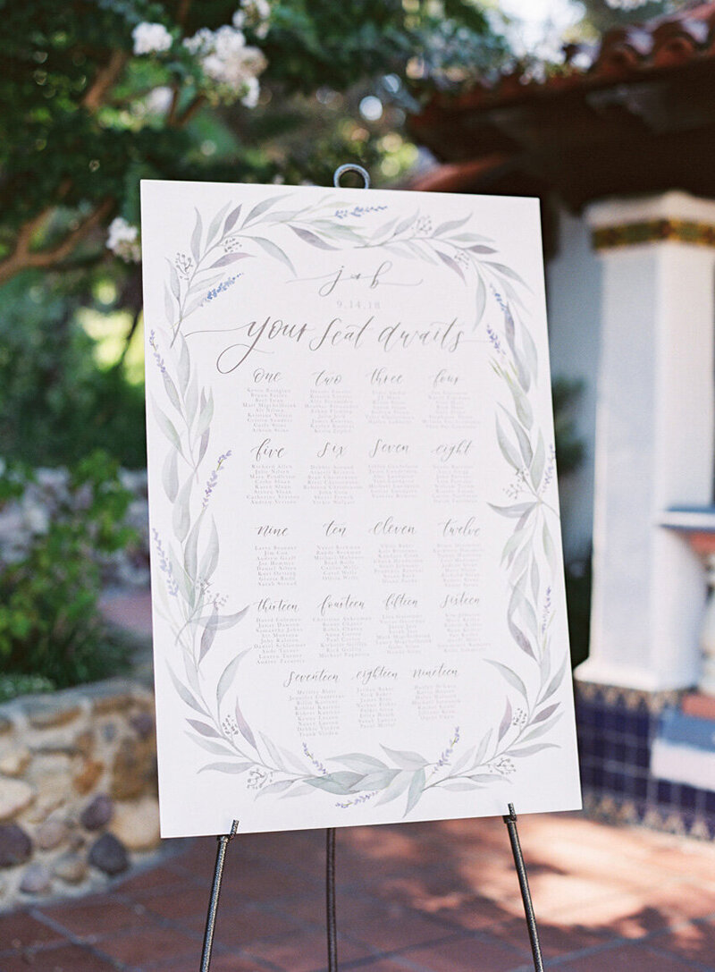 pirouettepaper.com | Wedding Stationery, Signage and Invitations | Pirouette Paper Company | Seating Charts 87