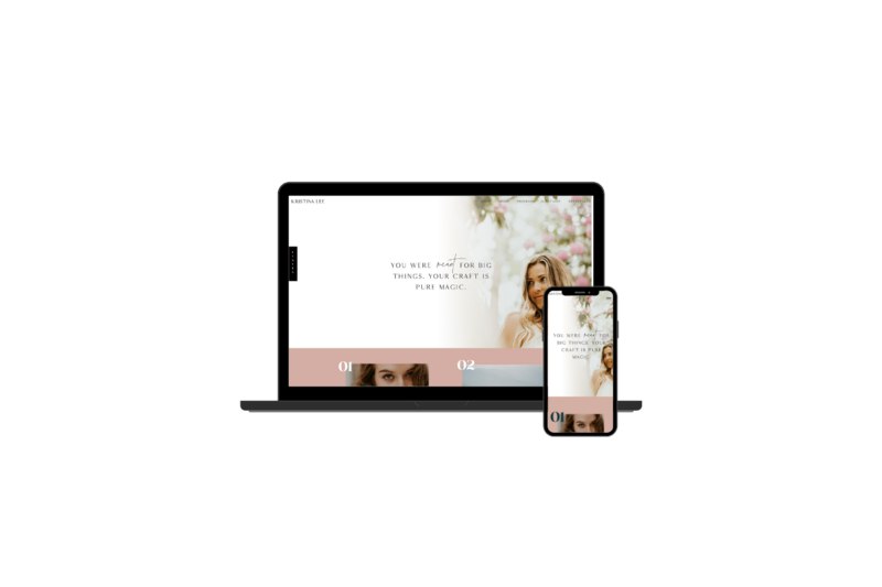 Designed by Becca Luna, Bold x Boho is your go-to for Showit Website Design and Templates