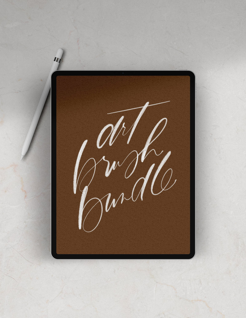 Procreate-Modern-Calligraphy-Brush-ArtBundle