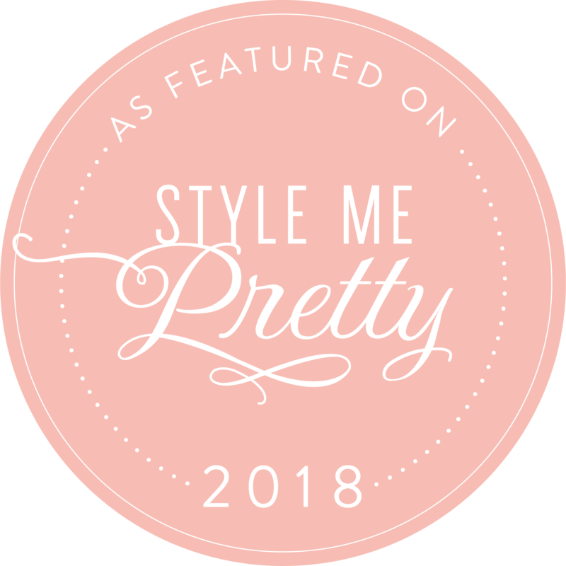 Badge saying as seen in Style me Pretty