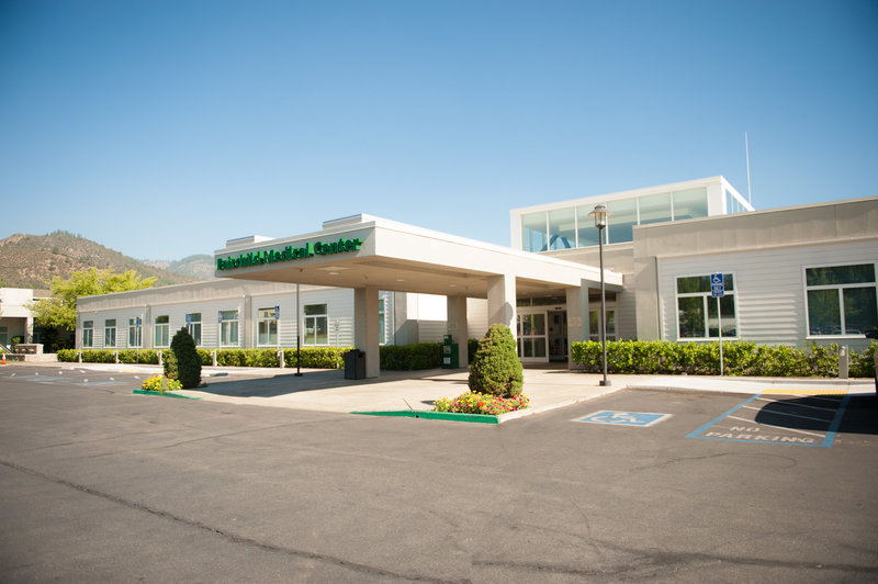 Image of the front of Fairchild Medical Center in Yreka
