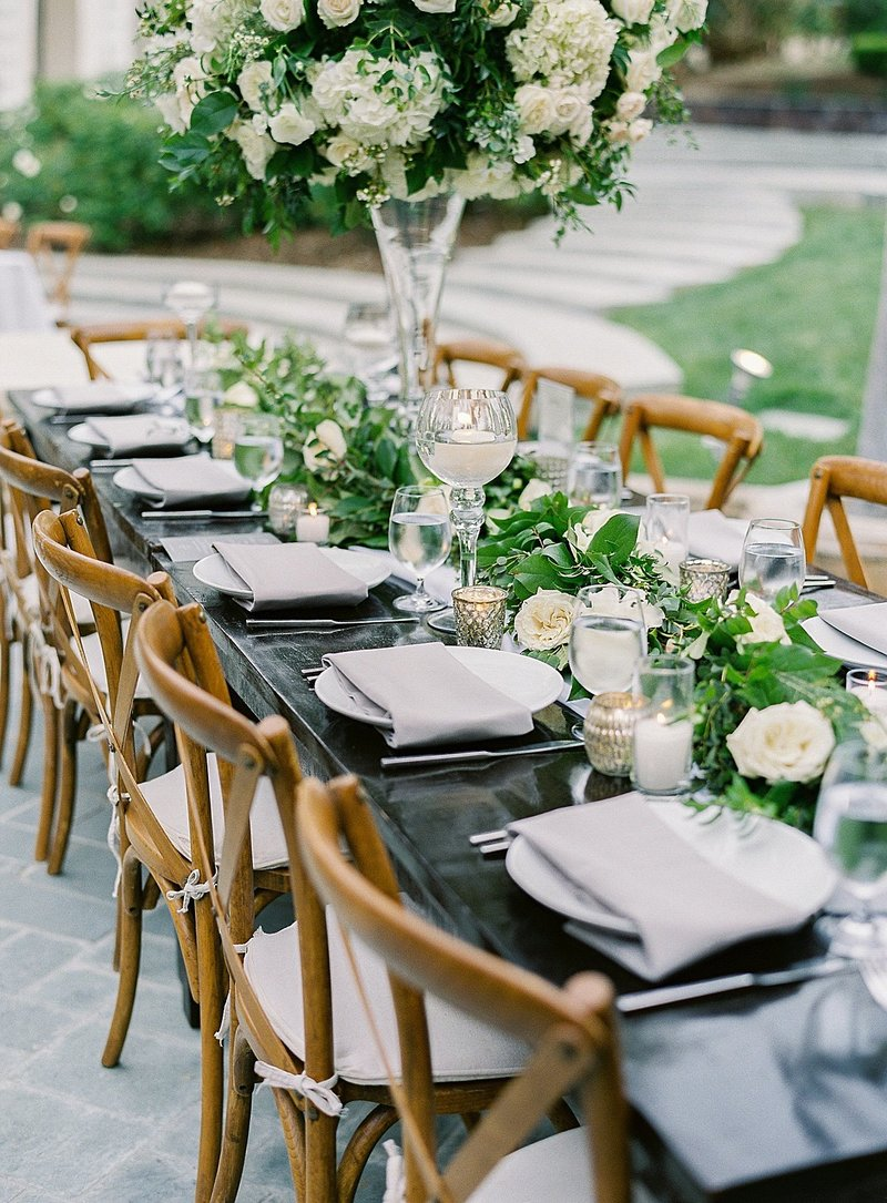 Posh Peony Mission Newhall Mansion Piru lush white floral and greenery Wedding Flowers_0026