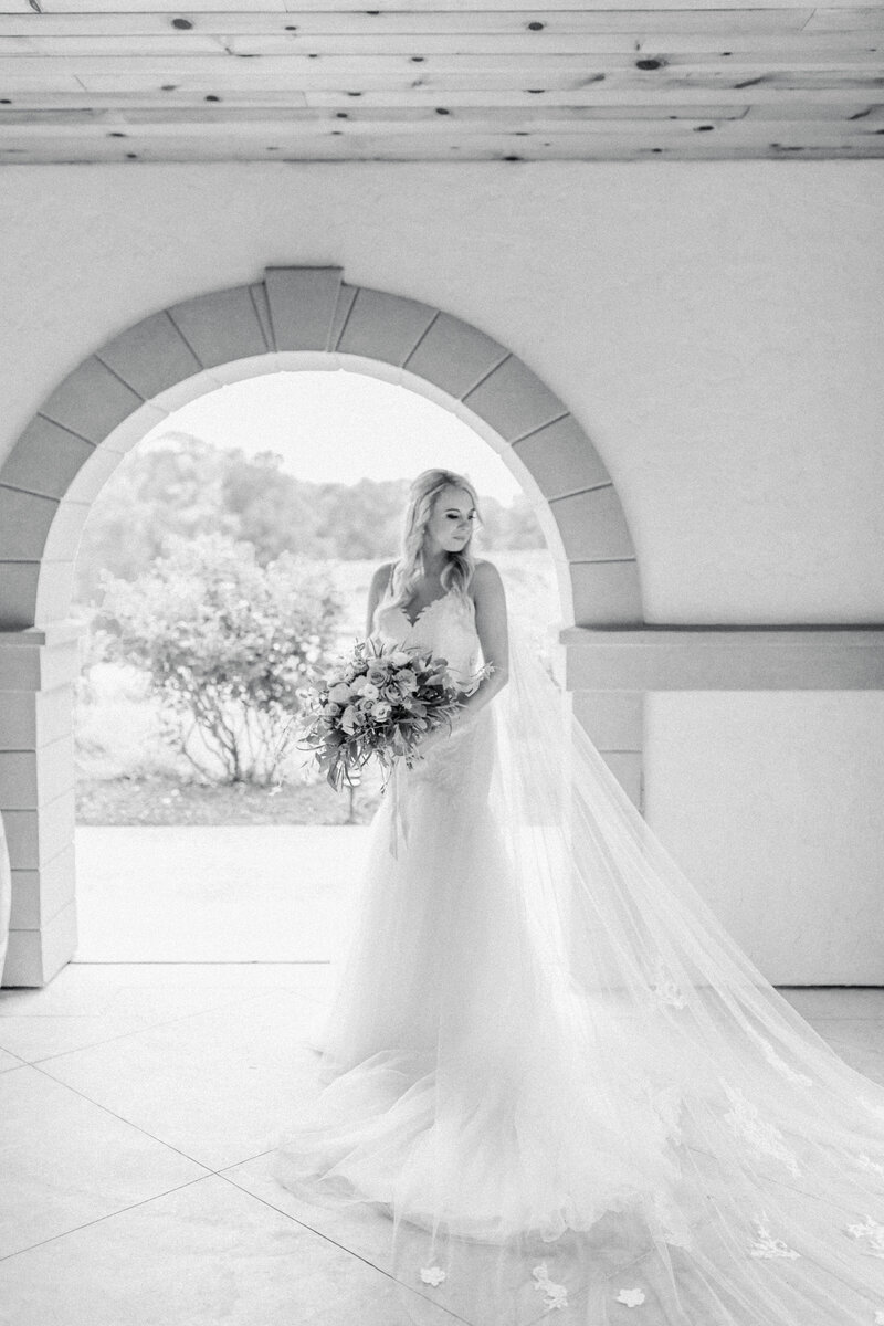 bride at Running Hare Vineyard Wedding photographer costola photography