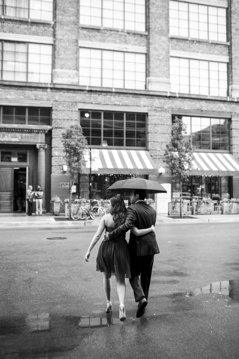 West loop engagement session by Natalie Probst Photography
