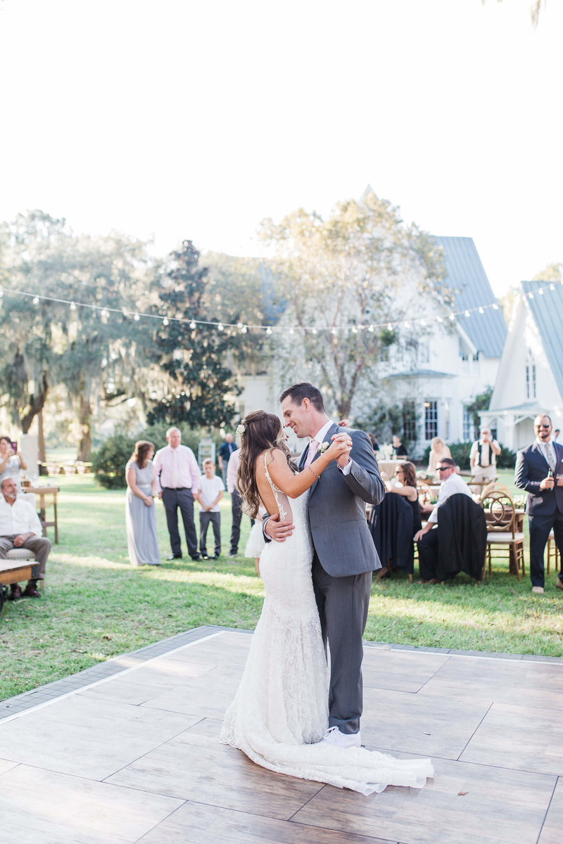Wedding Reception at Rosehill Mansion in Bluffton by Apt. B Photography