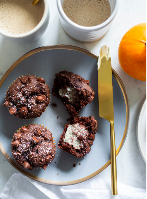 ONE BOWL PUMPKIN CHOCOLATE MUFFINS