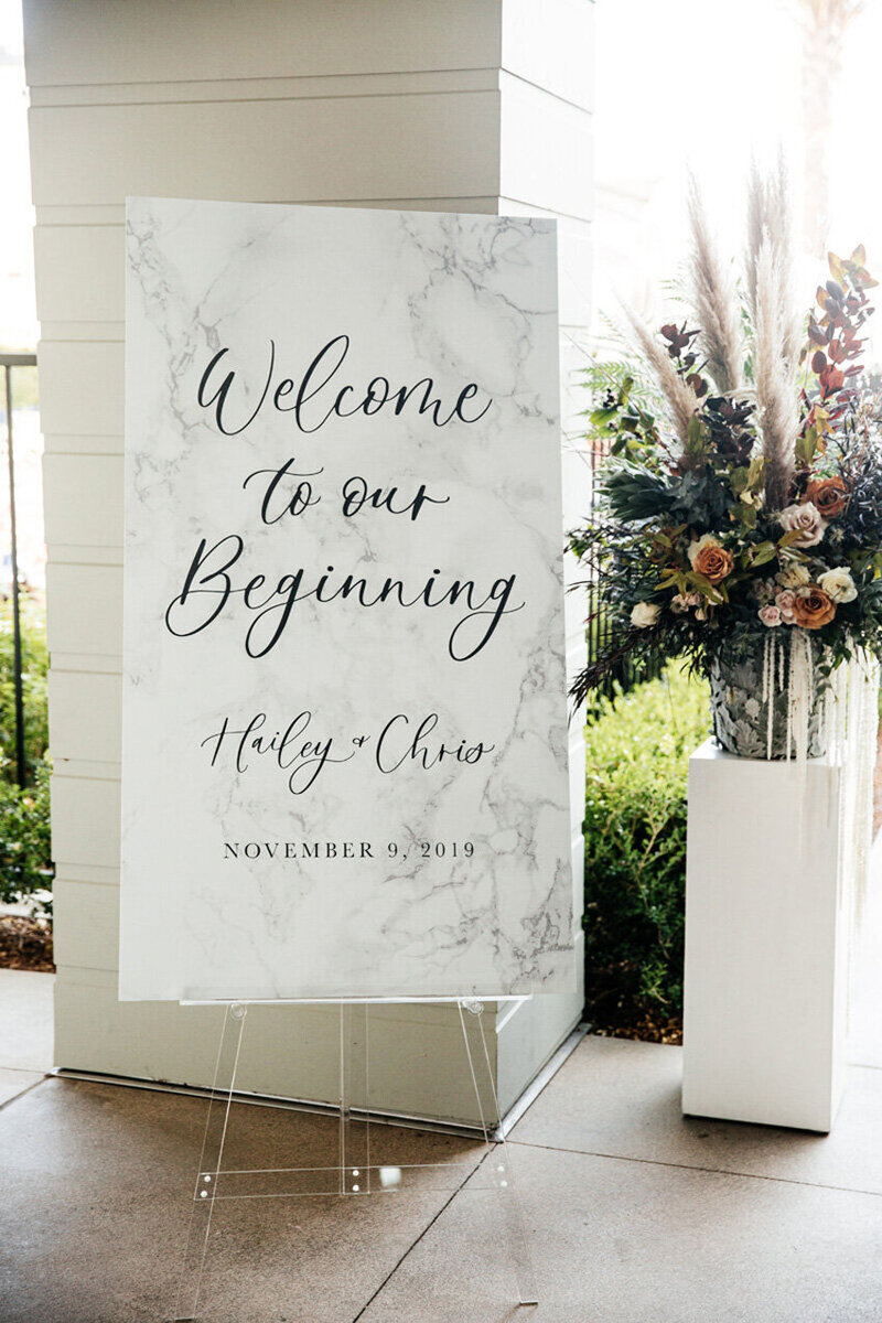 pirouettepaper.com | Wedding Stationery, Signage and Invitations | Pirouette Paper Company | Welcome + Unplugged Signs 15