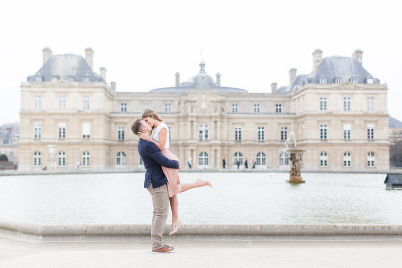Paris, France Engagement Session | Amy & Jordan Photography