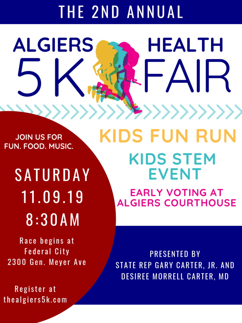 The Algiers 5K and Health Fair
