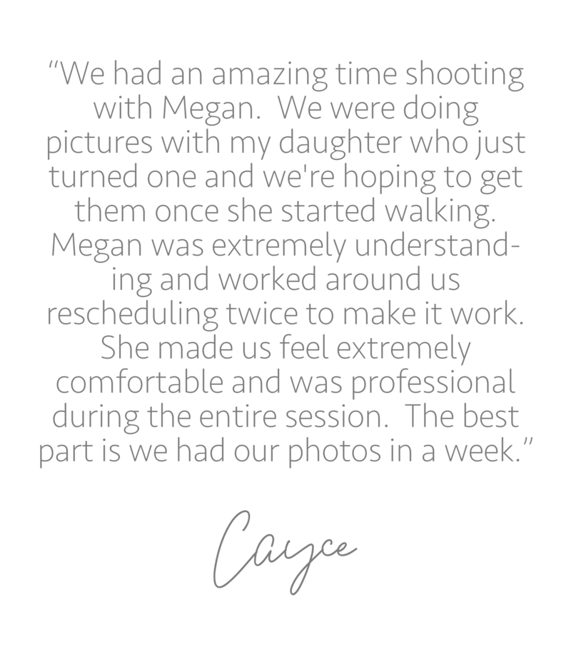 Testimonial from Cayce on Google