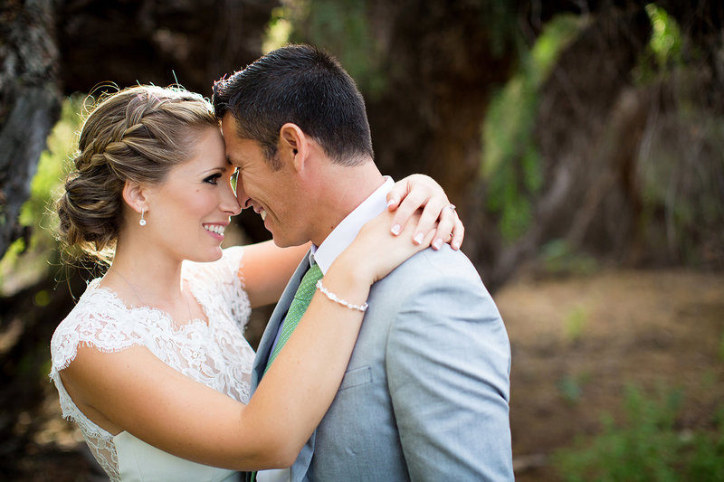 Steele Canyon wedding photos couple smiling beautiful