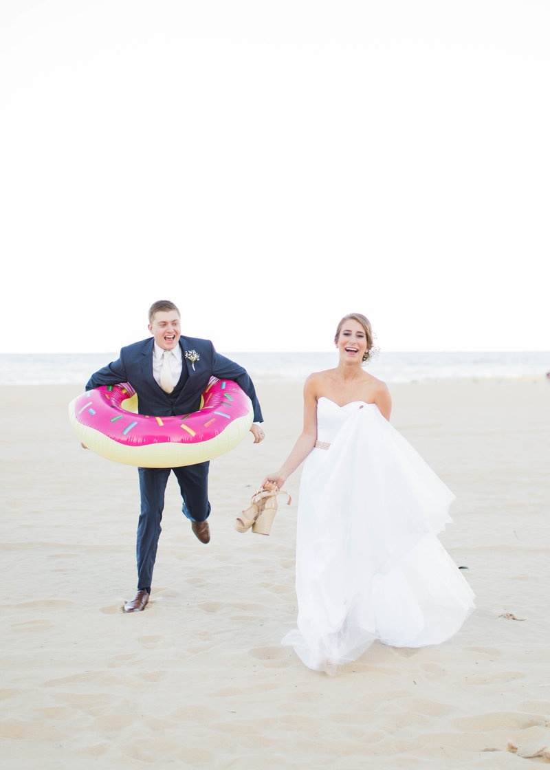 funny couples wedding photo