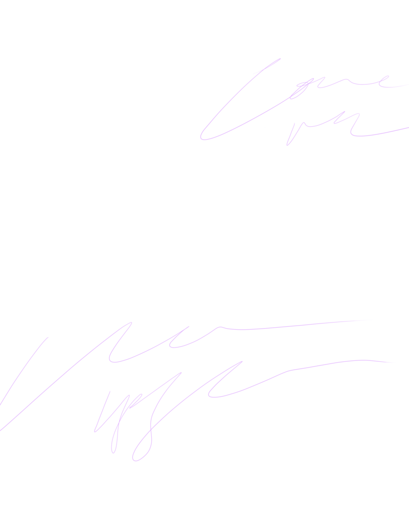 Handwriting Purple
