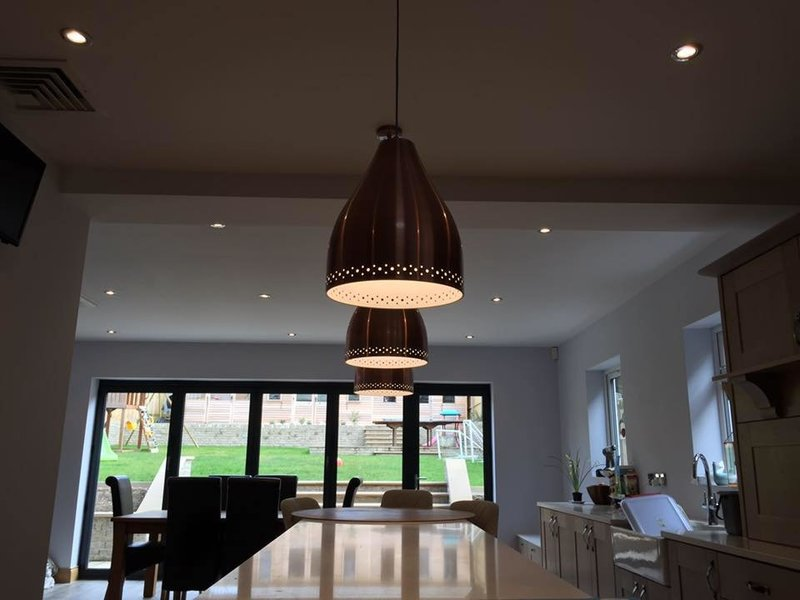 Feature lighting at Mead Electrical Services