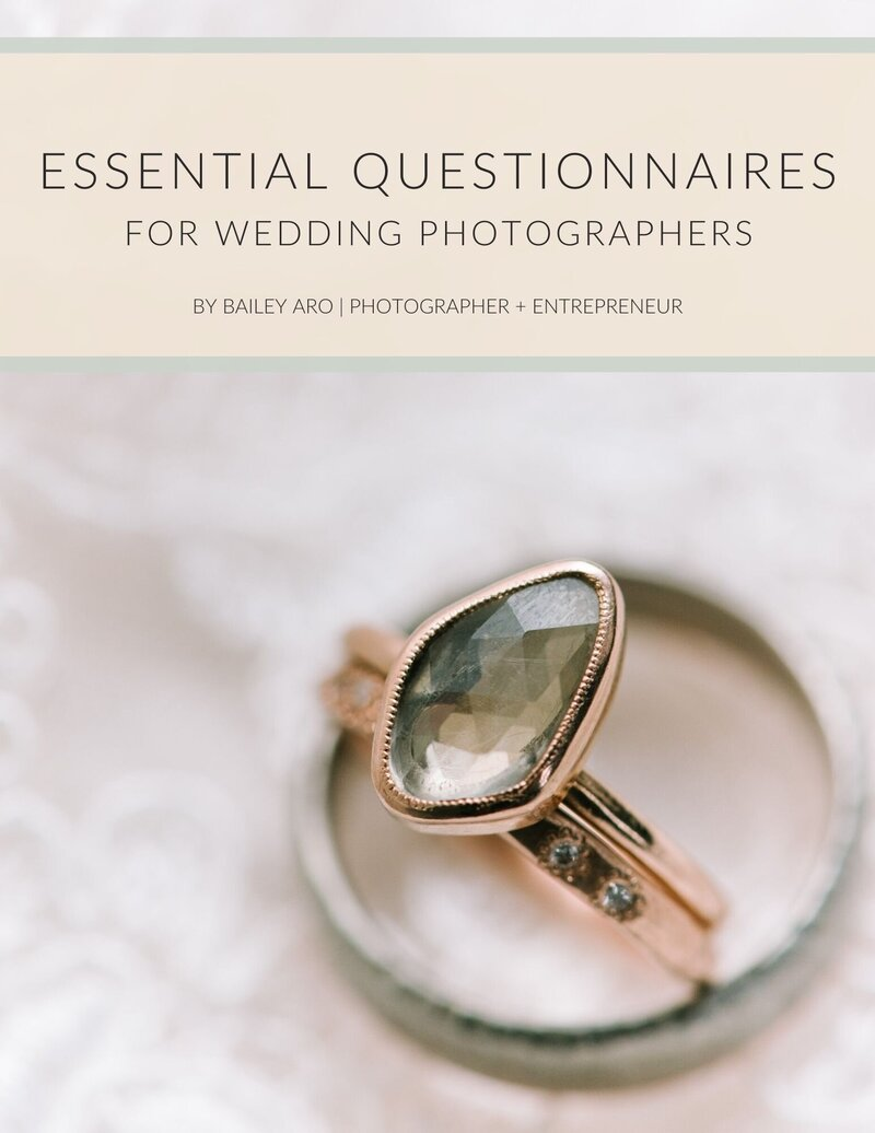 Essential Questionnaires for Wedding Photographers