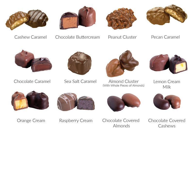 What's In the Box 12pc Dark_Creams and Nuts