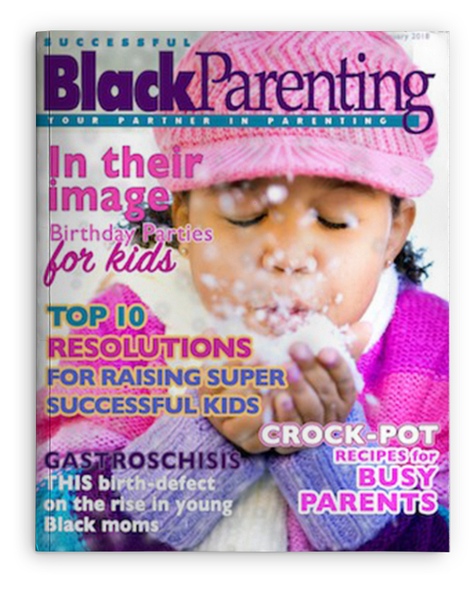 Successful Black Parenting - FEB 2017 Magazine Cover