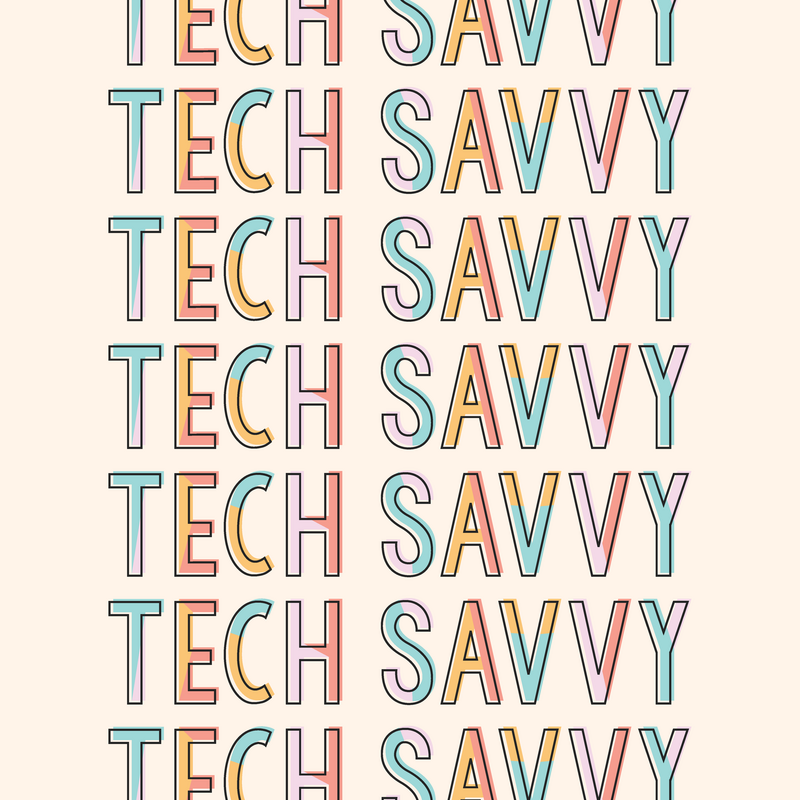 Colorful Tech Branding by Kindly by Kelsea
