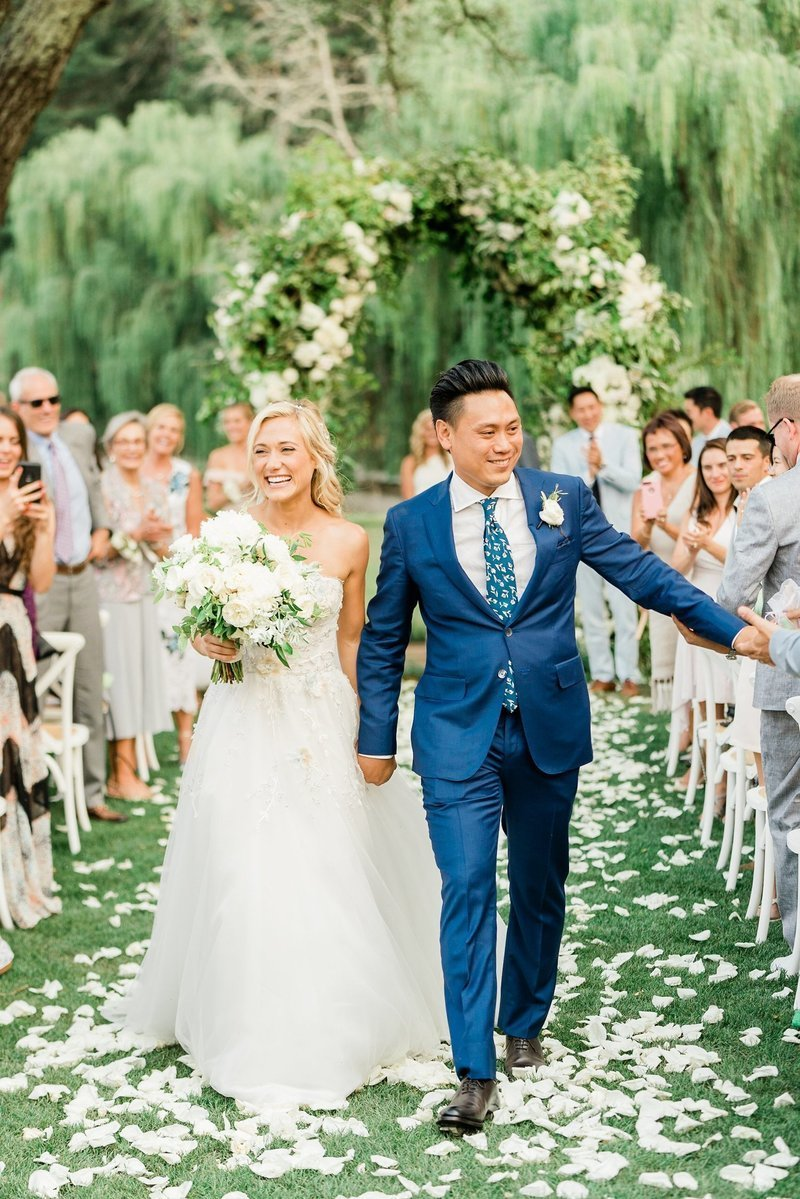 Jon Chu and Kristin wedding at Meadowood Napa Valley