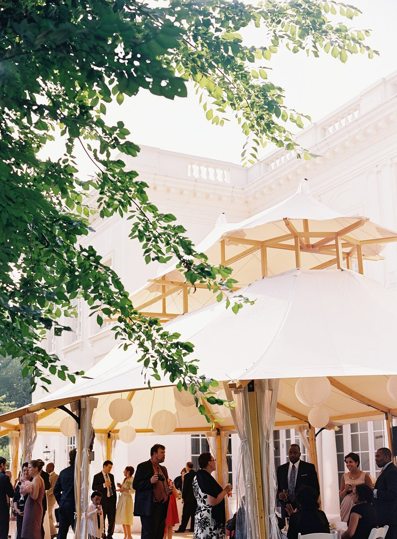 Spring Wadsworth Mansion Tented Wedding in Middletown, CT