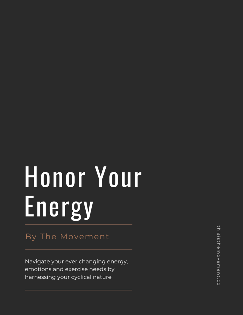 Honor Your Energy (1)