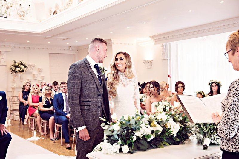 Ceremony at Ashfield House Lancashire