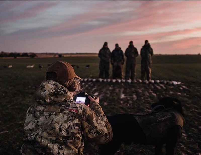 Waterfowl photographer based in Kansas