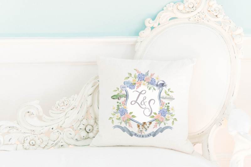 wedding-crest-pillow-The-Welcoming-District