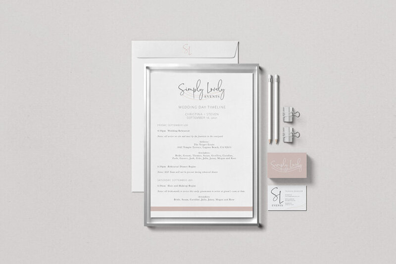 pirouettepaper.com | Logo Design + Branding | Pirouette Paper Company | Simply Lovely Events Logo + Branding, Event Planning + Design in Orange County, CA   85