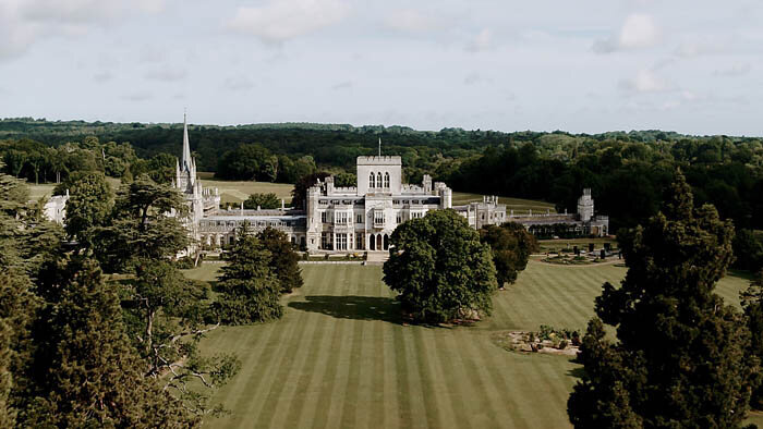 Ashridge House south lawn