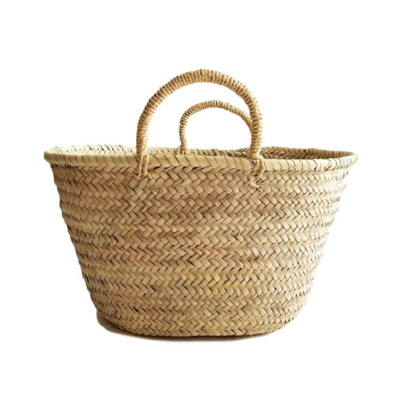 Socco Large French Market Basket