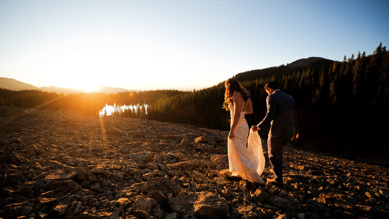 Alta Lakes Mountain Elopement Video | Colorado Elopement Videography