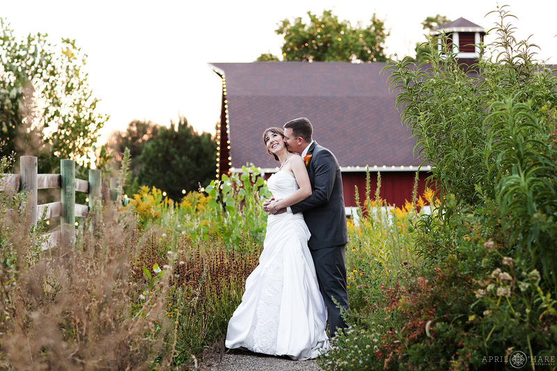 Romantic Wedding photography in Denver at Chatfield Farms