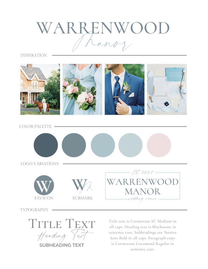 Manor House Consulting - Client Portfolio - Warrenwood Manor