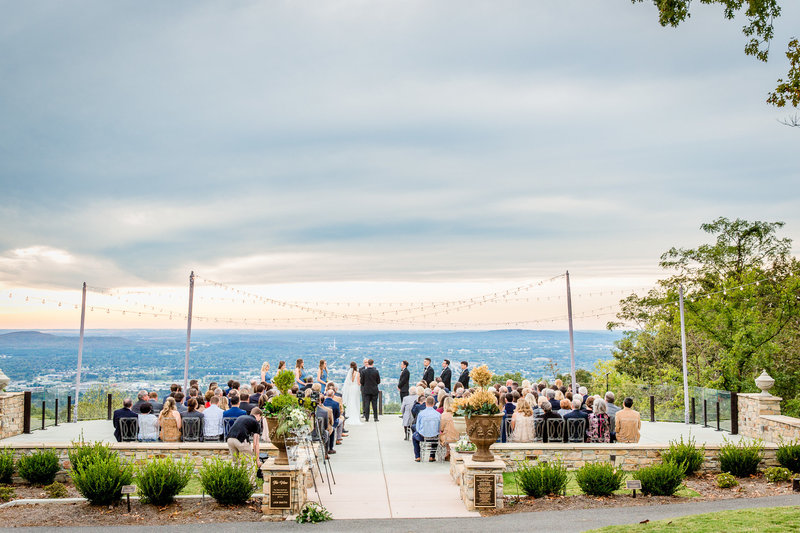 The Overlook is Burritt's newly renovated venue and has a gorgeous view of the Huntsville Valley