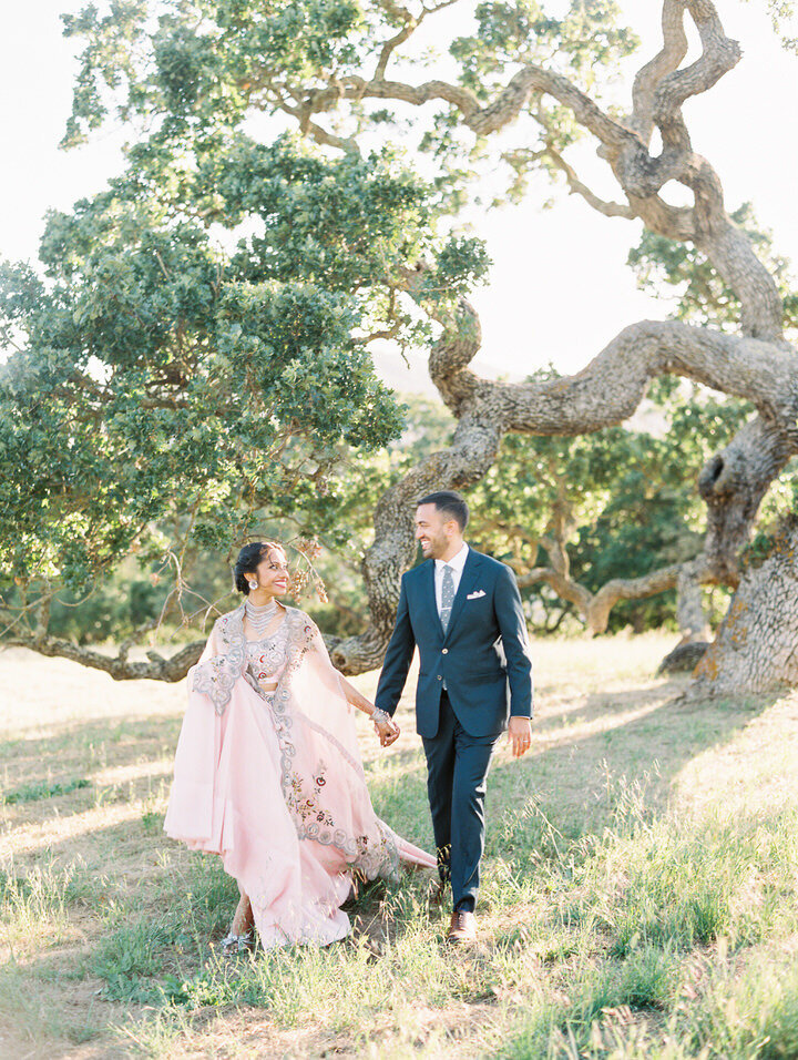 indian wedding at holman ranch in carmel
