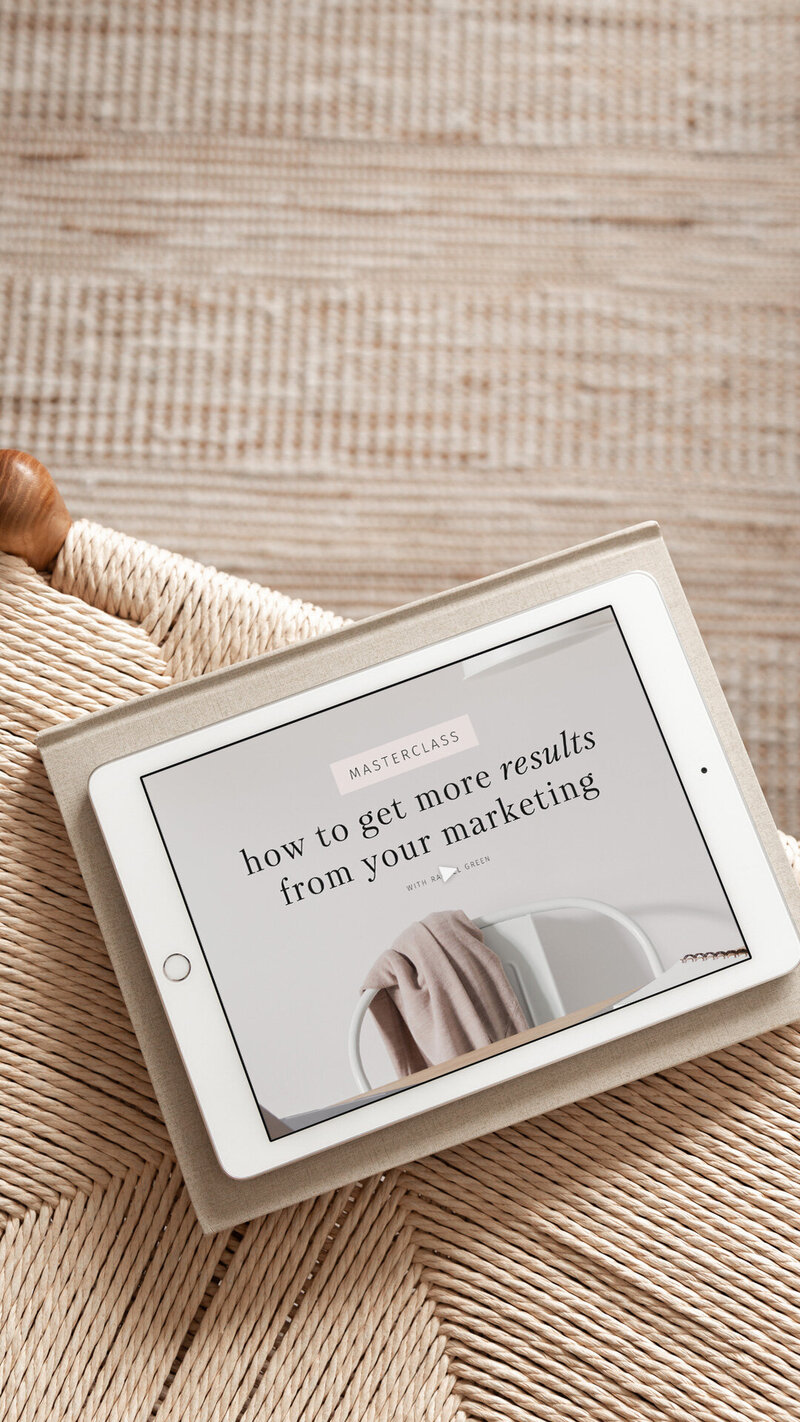 How to get more results from your marketing masterclass