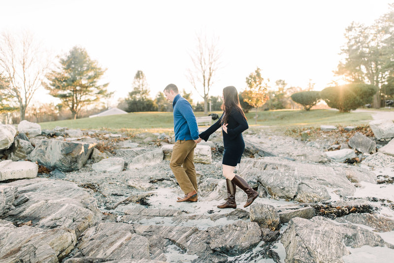 Nh engagement beach  new england maine boston bride wedding photographer  Esra Y Photography-1-9