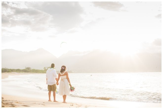 Kanaha beach wedding venue Maui, Hawaii
