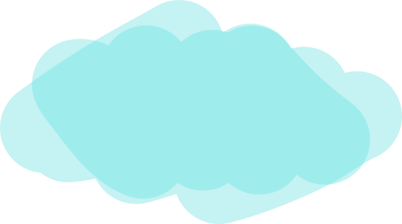 Teal Clouds