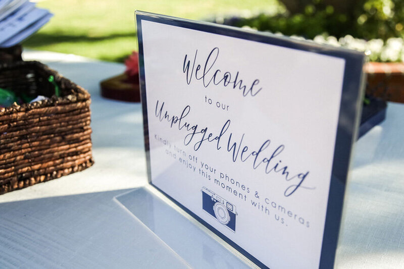 pirouettepaper.com | Wedding Stationery, Signage and Invitations | Pirouette Paper Company | Welcome + Unplugged Signs 22
