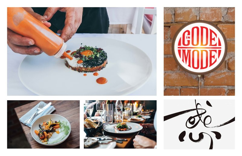 Developing concepts for Madison Chef Week with a moodboard by Christie Evenson Design Co.
