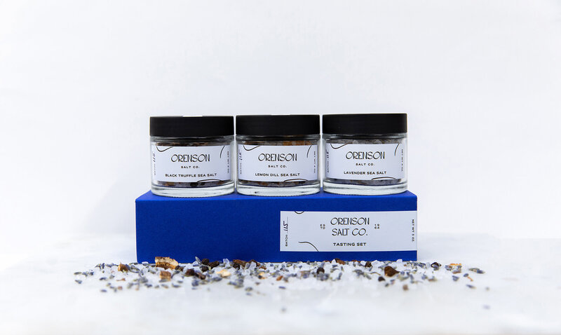 Orenson Salt Co Tasting Set Packaging