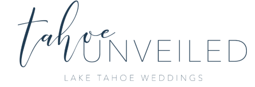 Top rated Lake Tahoe elopement and wedding photographer