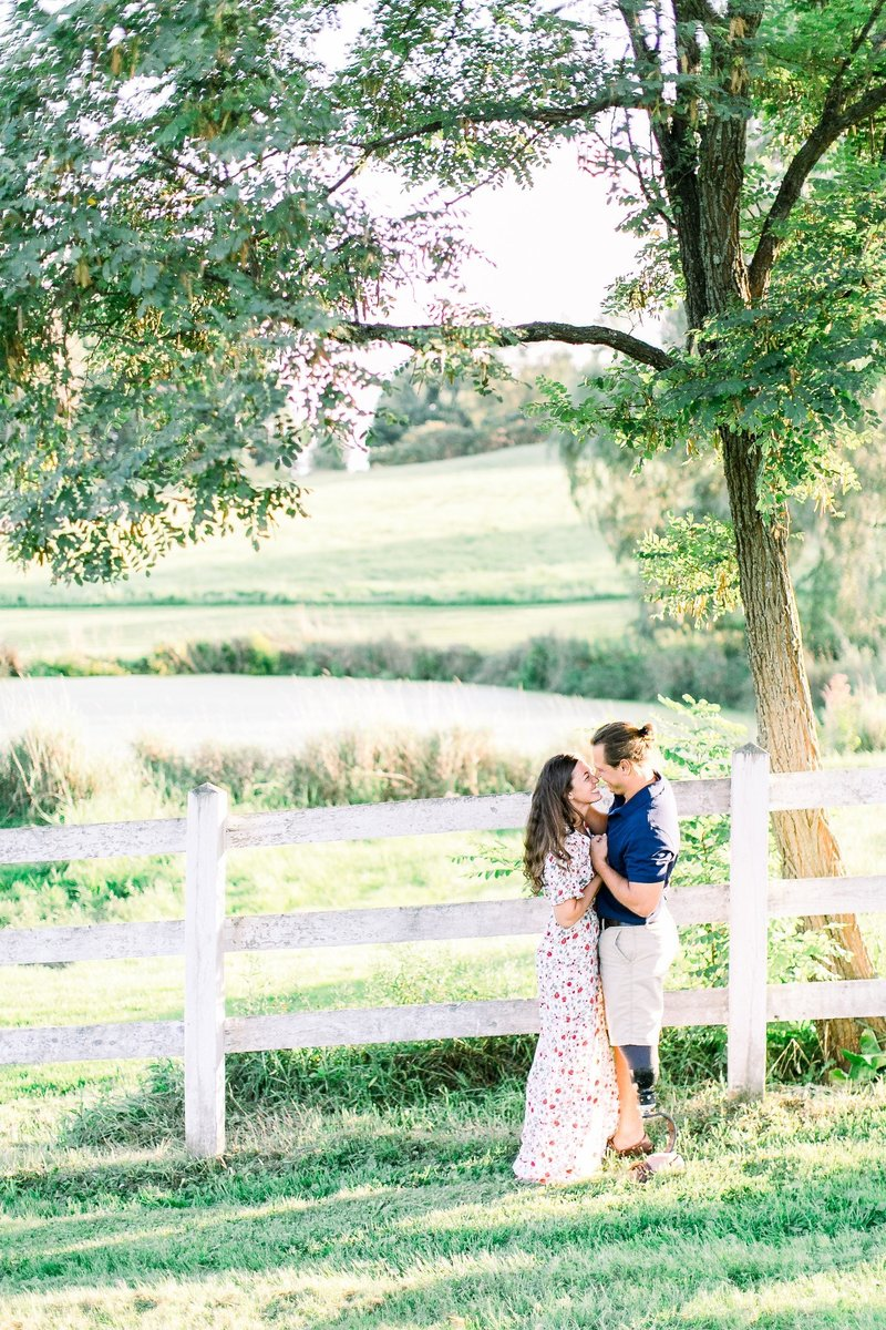 Pennsylvania Countryside Engagement Session by Emi Rose Studio (108)