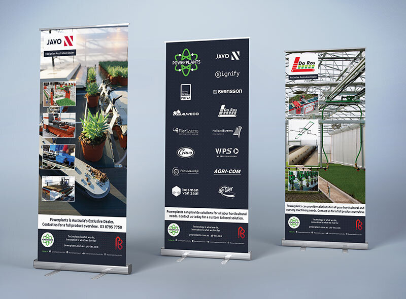 Powerplants Pull up Banners by The Brand Advisory