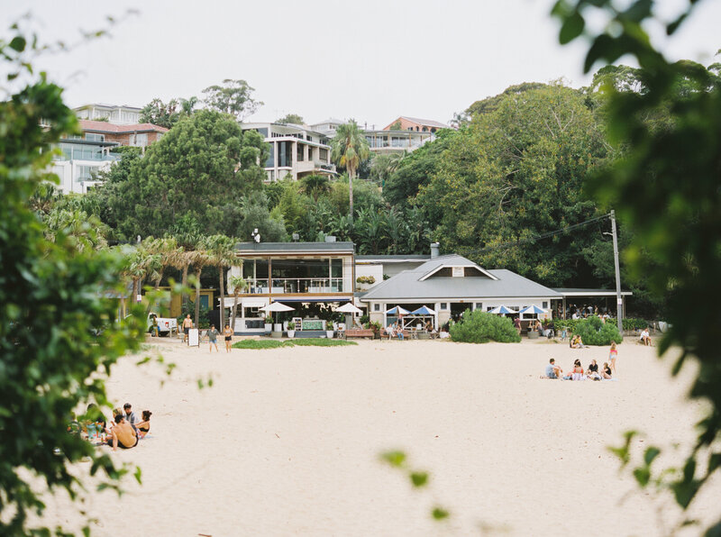 The Boathouse Shelly Beach, Manly Fine Art Film Elopement Wedding Photographer Sheri McMahon --00016